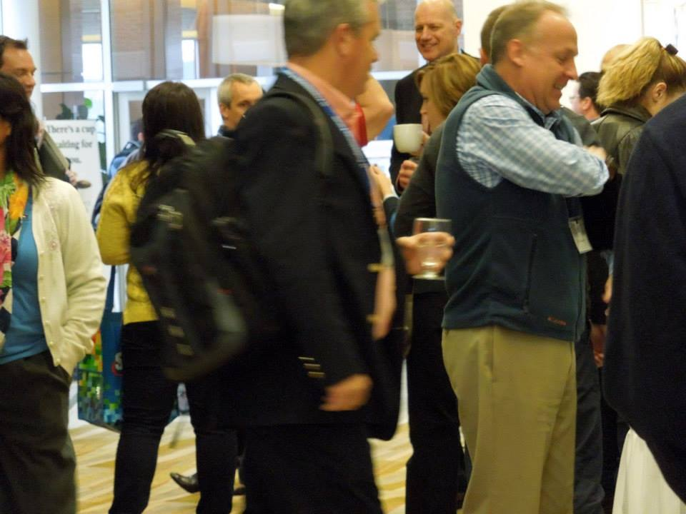 ITPF Conference Attendees walking